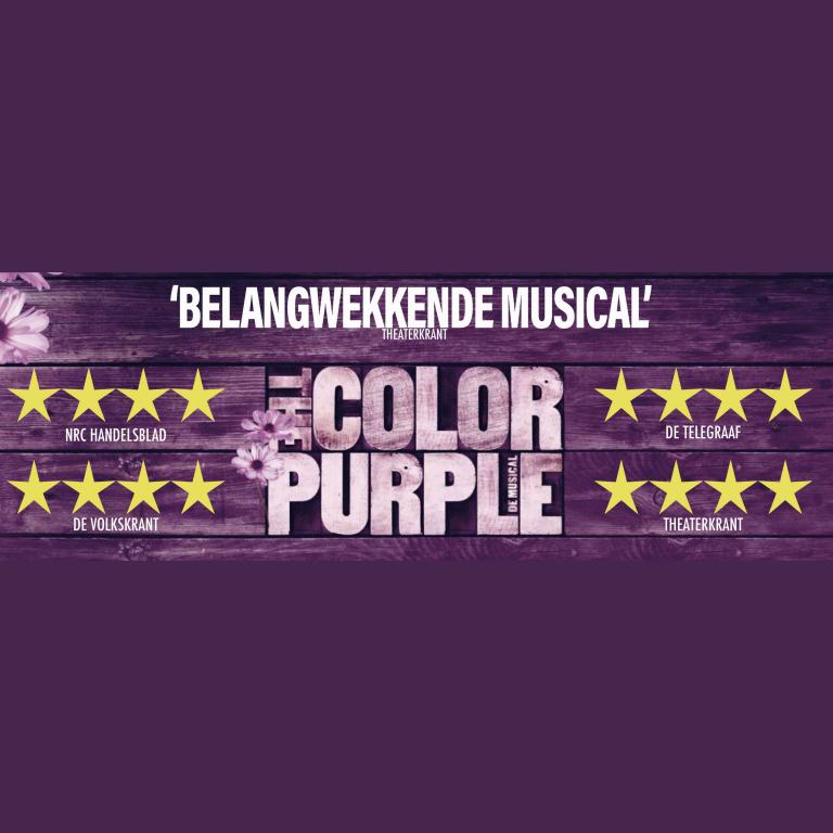 Paul muzikaal leider van The Color Purple tot 13 januari te zien